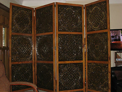 tin ceiling panel room partition