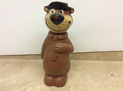 Vintage 60's Knickerbocker Yogi The Bear Coin Bank! See Pics!