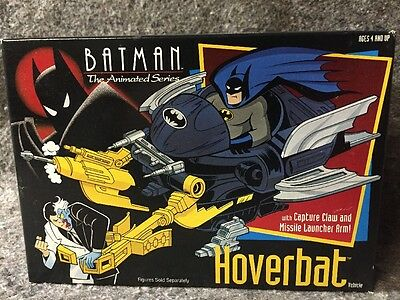Batman The Animated Series Hoverbat Kenner 1992 Sealed