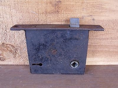 Vintage Hardware Mortise Lock Metal Latch Plate Use Repair or Parts Re-Purpose