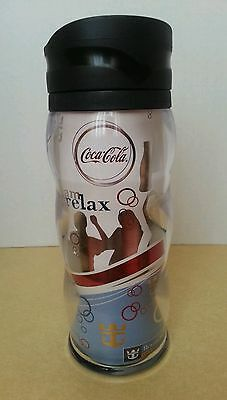 Collectible 2007 Royal Caribbean and Coca Cola Insulated Drinking Thermos