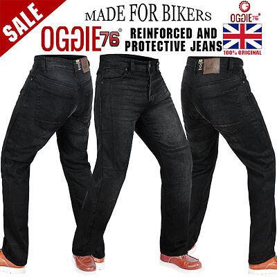 Mens Motorbike Motorcycle Denim Reinforced Jeans With Protective Lining Trouser7