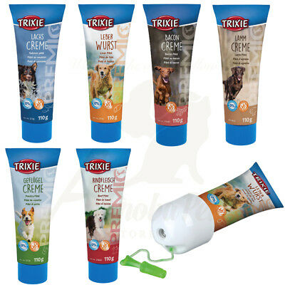 6 Pack of Dog PREMIO Pâté Treat also eases application of meds + FREE TUBE GUARD