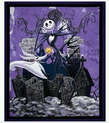 Nightmare Before Christmas Quilt Panel...in Stock....free Post