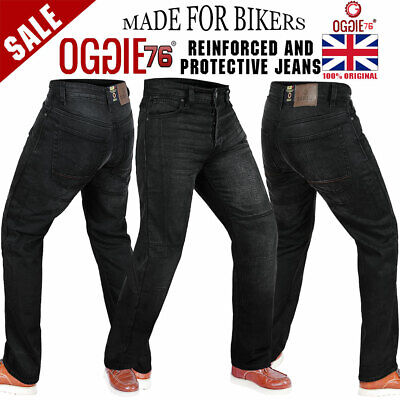 Mens Motorbike Motorcycle Denim Reinforced Jeans With Protective Lining Trouser8