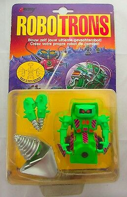 Vintage ROBOTRONS Dozoid Figure by Galoob 1992 Toy Robot Space Toy Sealed MOC