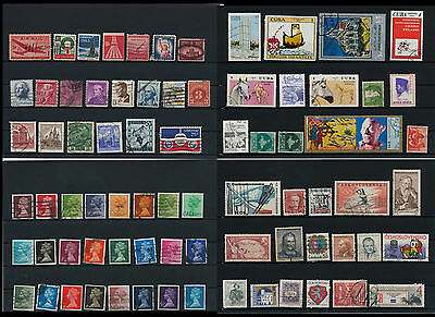 Worldwide Stamps,  a huge amount of stamps, Lot, used (WA 15)