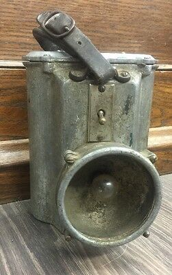 grether fire equipment fire fighters lantern 1920's very cool!