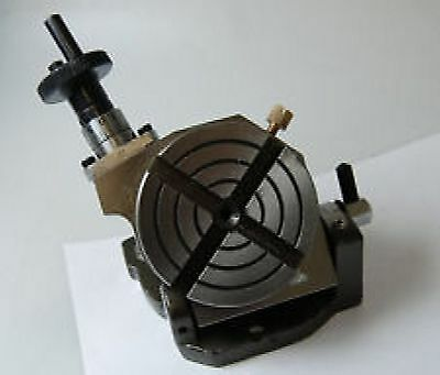 """New Tilting Rotary Table 3"""" / 75mm for Milling Machine Lathe - Mini Small Table"""