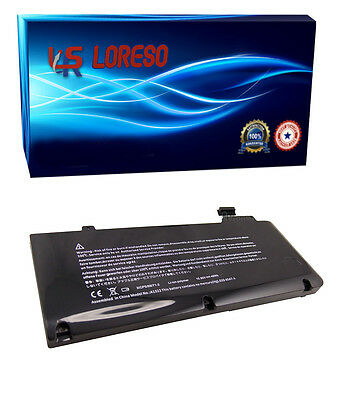 "LRS Laptop Battery Apple MacBook Pro 13"" Early 2011 A1322 A1278 661-5229 MB991CH"