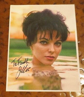 Joan Collins model actress signed autographed photo Dynasty Alexis Colby