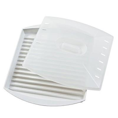 Prep Solutions By Progressive Microwave Bacon Grill With Cover Dishwasher Safe