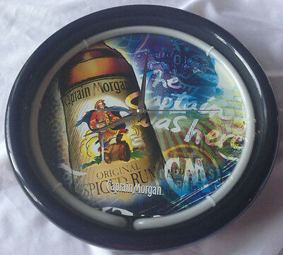 """Captain Morgan """"the Captain Was Here"""" Clock & Neon Light -  New Lower Price!!!"""
