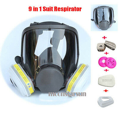 Suit Painting Spraying same For 3M 6800 Gas Mask Full Face Facepiece Respirator