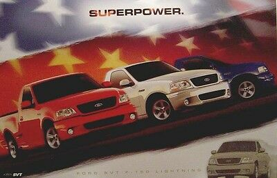 Ford Lightning Superpower Poster