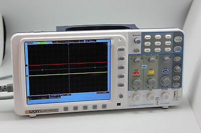 "OWON 100Mhz Oscilloscope SDS7102V 1G/s 8"" FFT LAN+VGA FW up AU ship"