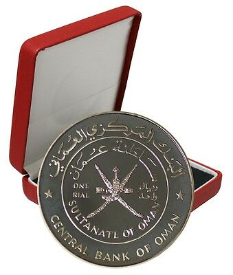 Oman 1 Rial, 28 g Silver Coin, 1999, KM#149, Mint, 29th National Day Anniversary