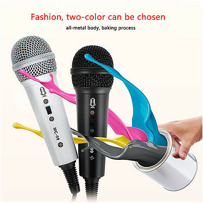 Portable USB Mini Studio Speech Mic Microphone For Microphones For Computer Lap