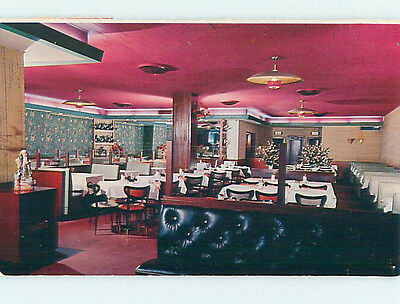 Pre-1980 THE CHINA BOWL CHINESE RESTAURANT hs5489