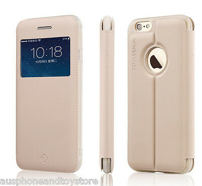 Wholesale Price- 10 X TOTU Design View Leather Flip Cover of iphone 6/6S