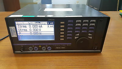 ZES ZIMMER LMG95 Single Phase Power Analyzer Precision Meter