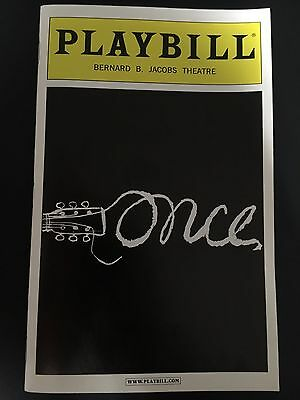 Once Broadway Playbill (April 2012)