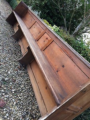 Fabulous Antique Church Pew Oak Victorian St. Mary The Virgin 19th Century No. 3