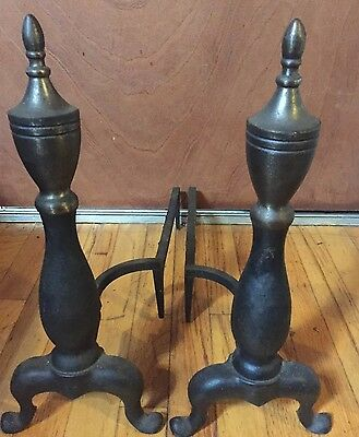 "Antique 18"" Cast Iron Firewood Holders!!!"