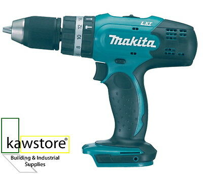 Makita DHP453Z 18 Volt Li-ion, 2 Speed LXT Combi Drill, Bare Unit, Body Only