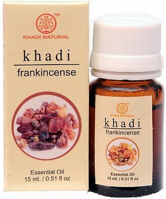 Khadi Herbal Frankincense 100% Natural Undiluted Essential Oil 15ML