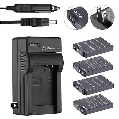EN-EL12 Battery + Charger for Nikon Coolpix AW100 AW110 S6000 S6100 S6200 S6300