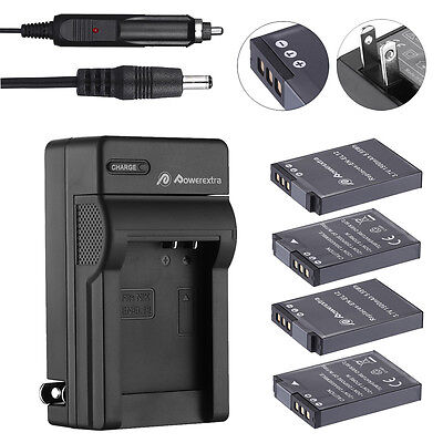 EN-EL12 Battery for Nikon Coolpix AW130 AW120 AW110 AW100 S640 S6000 + Charger