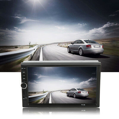 7 Inch HD Screen Bluetooth Car DVD FM/MP5 Radio Player Rear View Camera Input BY