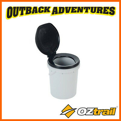 Oztrail Ready Restroom Camping Toilet Bucket New