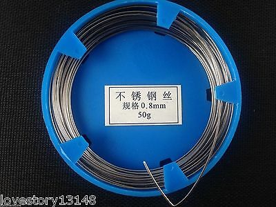 Dental Stainless Steel Round Wire Orthodontic Surgical Instruments 0.8mm