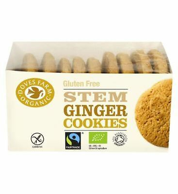 Doves Farm Ginger Cookies Gluten Free 150G