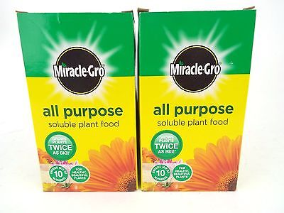 Scotts Miracle-Gro All Purpose Soluble Plant Food Carton, 1 kg x2