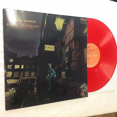 DAVID BOWIE - The Rise And Fall of Ziggy Stardust  - Coloured - Red Vinyl