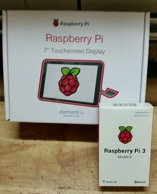 """Official 7"""" Raspberry Pi Touchscreen Display with Pi 3  DSI Interface screen (v)"""