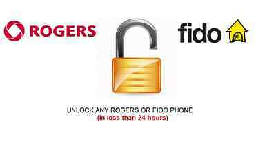 Unlock code for Samsung Galaxy Note 3, 4, 5, 6, 7, 8 Rogers, Fido Canada