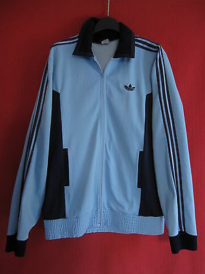Veste Vintage ADIDAS Ventex made in France Marine et ciel Jacket - XL