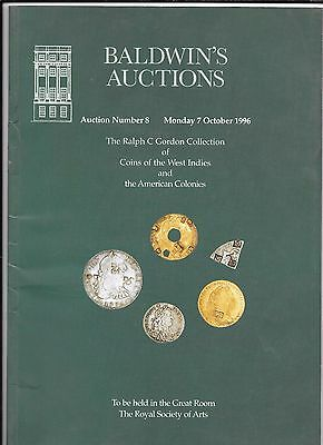 BALDWIN's Ralph C. Gordon collection of coins of the West Indies 1996 catalogue