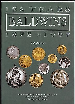 BALDWIN's 125th Anniversary 1872/1997 - A celebration Auction catalogue