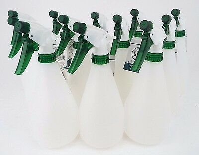 12x 750ml Empty Spray Bottle Trigger Valeting Garden Cleaning Chemical-Resistant
