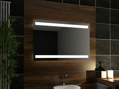 LED illuminated Bathroom Mirror Denver 150x70 cm | Wall mounted | Modern design