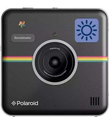 Polaroid Socialmatic Instant Camera Black With WiFi And Bluetooth GENUINE NEW