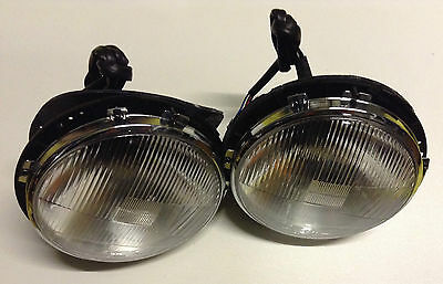 Wipac 7 Inch Headlamp Replacements (Pair) H4 12V S5819B