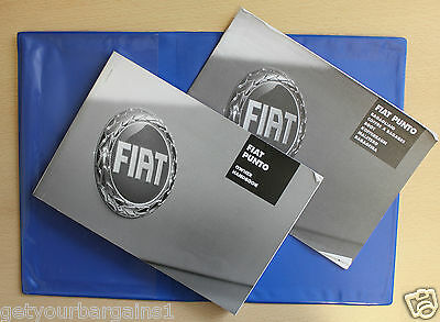 Fiat Punto Mk2 Facelift Handbook Owners Manual Wallet For 2003-2007 Cars Ref2140