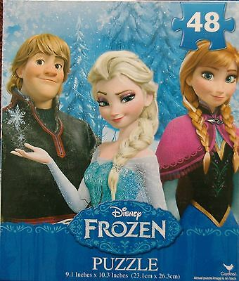 Officially Licensed | DISNEY FROZEN | 48 Piece Boxed Puzzle Jigsaw