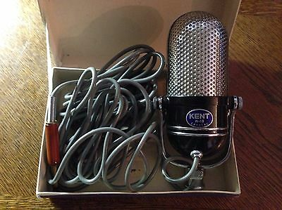 Kent m-18 crystal microphone made in JAPAN With original box - excellent shape!